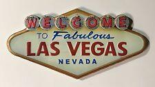 Welcome To Fabulous Las Vegas Nevada - Metal Wall Sign