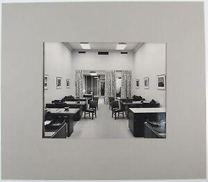 STEWART ROSS JAMES Black White Photograph Mid Century Modern Furniture Cunard a