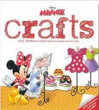 Disney Minnie Mouse Crafts, New,  Book