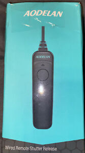 AODELAN WIRED REMOTE SHUTTER RELEASE RS-N8 New Open box Fast Shipping!