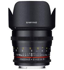 Obiettivi a focus manuale per fotografia e video 50mm