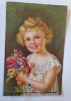 Geburtstag, Kinder, Mode, Blumen,  1931  ♥