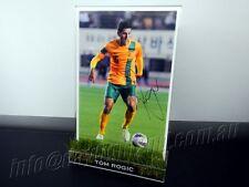 ✺Signed✺ TOM ROGIC Photo & Frame PROOF COA Socceroos 2018 Jersey