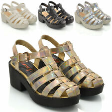Buckle Gladiator Casual Shoes for Women