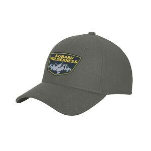 Genuine Subaru Wilderness Stretch Cap Hat Outback Wrx Sti Rally 3 sizes new