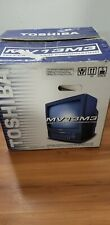 """Toshiba MV13M3 13"""" TV VCR Combo VHS Player Television . New with open box !"""