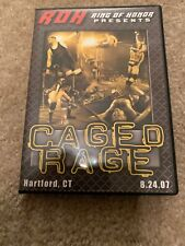 Ring of Honor DVD Caged Rage ROH WWE NXT AEW NJPW