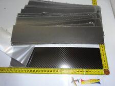 0,25 mm ca. 31 cm x 7 cm(F) Voll CFK  Carbon Platte Depron Balsa Verstärkung
