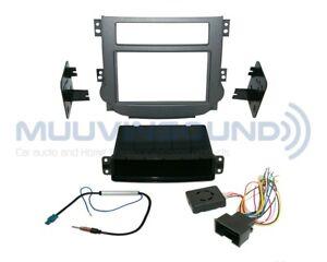 Radio Stereo Installation Dash Kit Combo 2DIN + Wire Harness + Antenna CH47