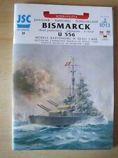 Bismarck Schlachtschiff Kartonbausatz *NEU* Bastelbogen Kartonmodell