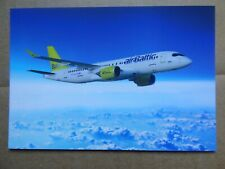 AIR BALTIC   AIRBUS A 220    / CARTE COMPAGNIE / AIRLINE ISSUE