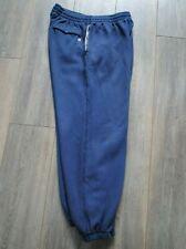 Para Hombre Nike Chándal Bottoms basculador L Grande Azul Cálido Mantener Fit Home Gimnasio Ejercicio