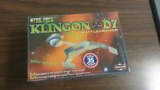 Polar Lights Star Trek Klingon D7 Battlecruiser sealed model kit