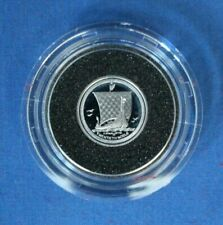 More details for 1992 isle of man 1/20oz platinum proof noble coin in capsule