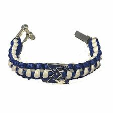 Phi Beta Sigma Survival Paracord Bracelet with Organization Symbol-New!