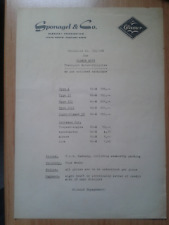 Mokuli Dreirad FMR Messerschmitt Ausführung: Glamor Moty Preisliste sehr selten