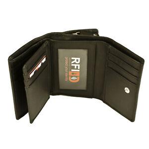 Ladies Purse RFID Protected genuine leather 22053