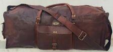 Bag Men's Vintage Bag Gift For Man Genuine Leather Duffel Gym Travel Luggage
