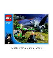 (Instructions) for LEGO 4750 - Harry Potter - Draco's Encounter with Buckbeak