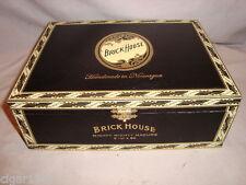 BRICKHOUSE MIGHTY MIGHTY MADURO BLACK WOOD CIGAR BOX