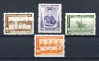 27918) Dominican Rep.1959 MNH New Polo Match 4v
