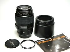 Canon EF Macro 100mm F2.8 USM lens