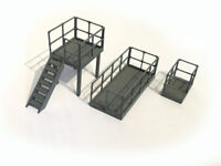 LASER CUT RELAY BOX TRACKSIDE PLATFORMS OO GAUGE 1:76 MODEL RAILWAY - LX148-OO