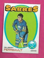 1971-72 TOPPS  # 60 SABRES GILBERT PERREAULT 2ND YEAR EX CARD (INV# C7804)