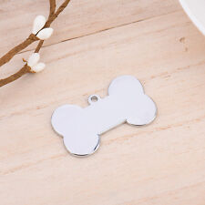 Custom Engraved Dog Pet Tag Double Sided Personalized ID Puppy Cat Charm Tags