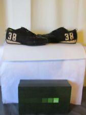 chaussures marithé françois girbaud toile noire et beige pointure 39