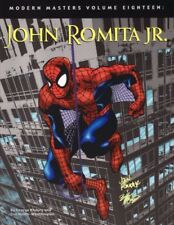 MODERN MASTERS VOLUME 18 JOHN ROMITA JUNIOR ARTBOOK MARVEL DC COMICS V.O. RARE