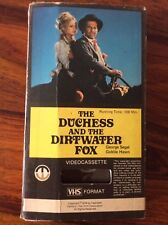 "Pre-cert Magnetic VHS ""The Duchess and the Dirtwater Fox"""