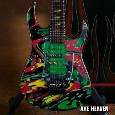 STEVE VAI Signature Universe Swirl 7 String 1:4 Scale Replica Guitar ~Axe Heaven