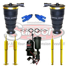 1998-2002 Lincoln Town Car Air Suspension Springs, Shocks and Compressor Kit