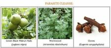 Parasite/Worm Cleanse Pack ~ Black Walnut Tincture, Wormwood, Clove Capsules