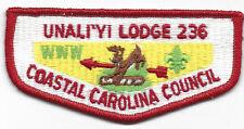 OA Un A Li'yi Lodge 236 S11 Flap Brotherhood early 1980s Issue Plastic B [S662]