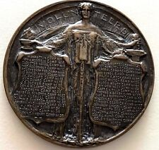 1923 Spanish-American War / New York Bronze Medal, by Charles Keck 70 mm / N141