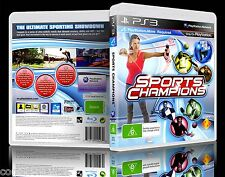 (PS3) Sports Champions (G) (Mixed Sports) Guaranteed, 100% Tested, Australian