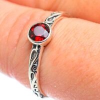 Garnet 925 Sterling Silver Ring Size 9 Ana Co Jewelry R52119F