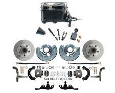 66-74 Dodge Dart Mopar A-Body Std. Manual Master Front Disc Brake Kit 5x4 Lug