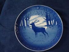 1960 Royal Copenhagen RC Christmas Plate Stag