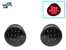 DEPO 01-05 Lexus IS300 4D Black Housing Crystal Lens INNER Trunk LED Tail Lights
