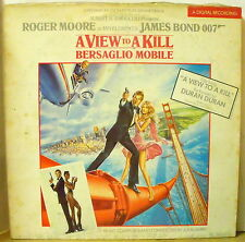 007 A VIEW TO A KILL - Original Soundtrack - LP Near Mint - OST