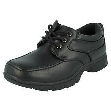 N1094 Niños FRESCA 4 Escuela Encaje Cierre Informal BACK TO Zapatos de colegio