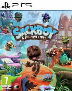 Sackboy: A Big Adventure (PS5) Brand New & Sealed Free UK P&P