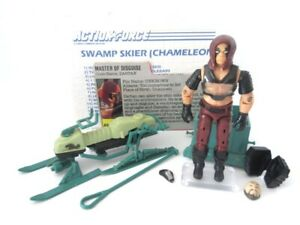 GI Joe Action Force Cobra ☆ ZARTAN + SWAMP SKIER ☆ Vintag Hasbro Toy Figure 1984