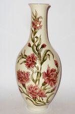 Alte Vase rote Blume Zsolnay Blumenvase Porzellanvase Hungary Porzellan Vasen