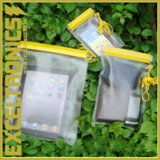 WATERPROOF STORAGE BAGS HIGH QUALITY FOR PHONE TABLET MONEY DRY WATER TRAVEL BAG