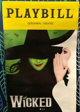 Wicked Broadway Musical Playbill Jessica Vosk