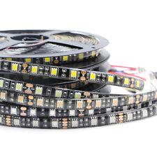 LED Strip Light black PCB 5050 3528 SMD waterproof 600 led Tape string lamp 12V